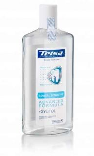 Apa de gura Trisa Revital Sensitive 904120, cantitate 500ml, +Xylitol